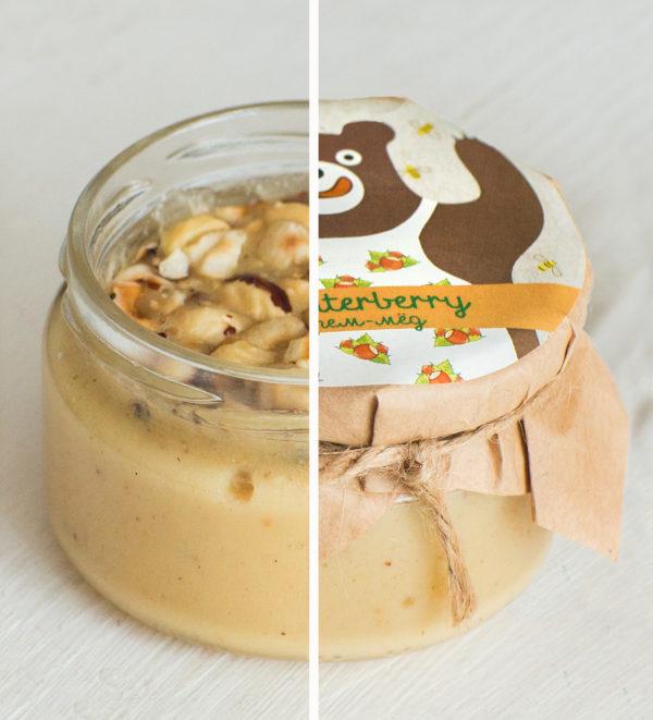 Крем-мед с фундуком