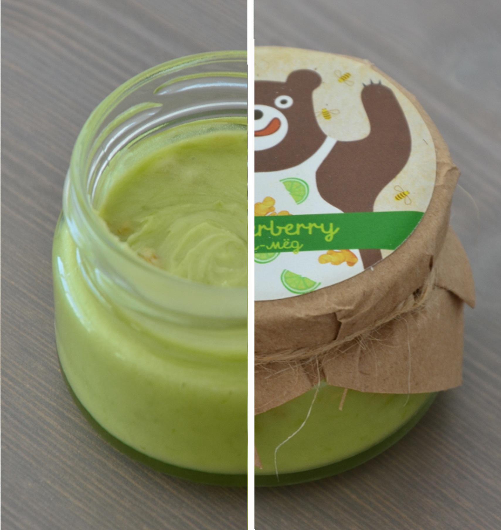 крем-мед с имбирем и лаймом