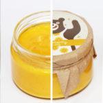 Крем-мед с апельсином