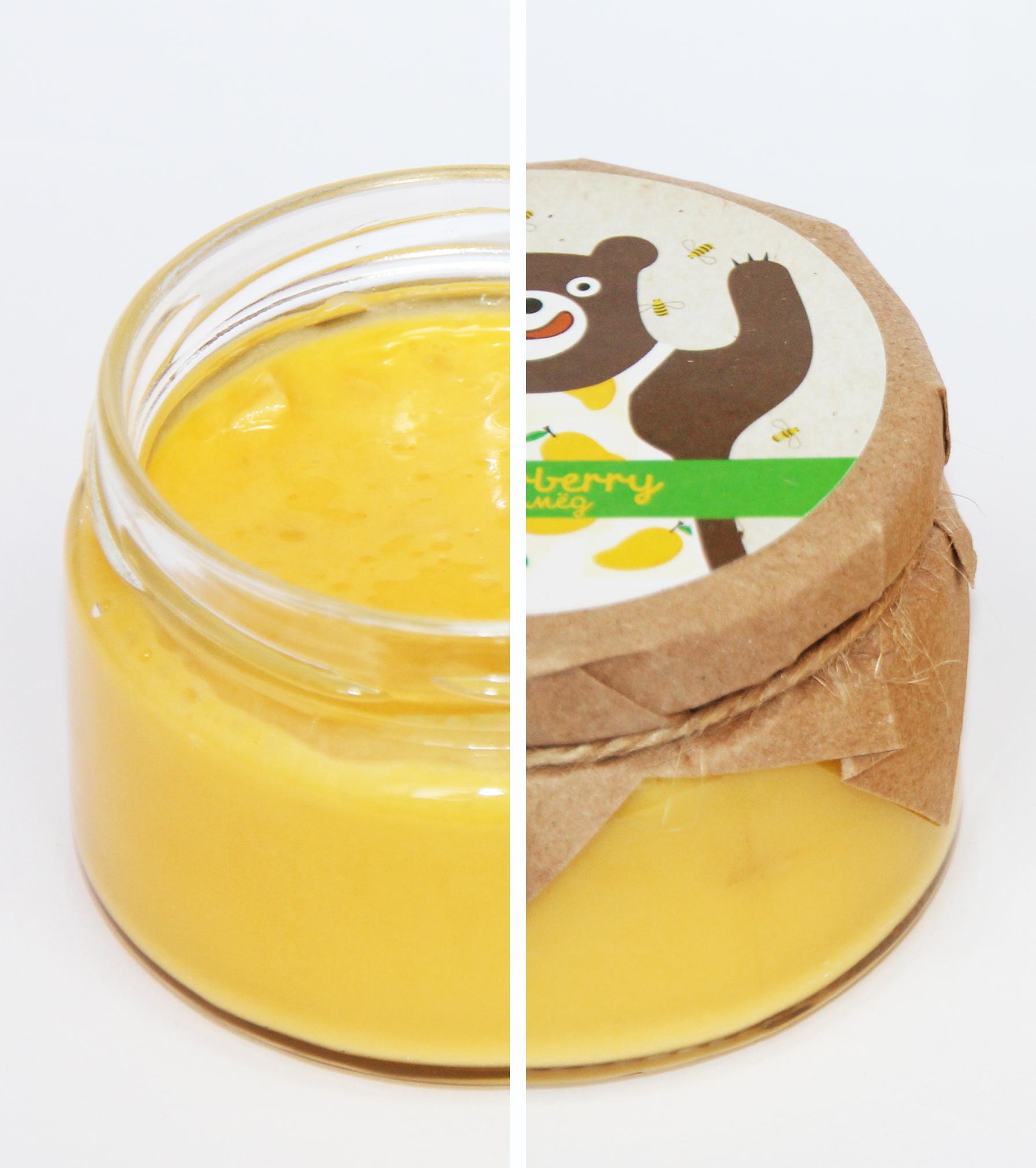 крем-мед с манго