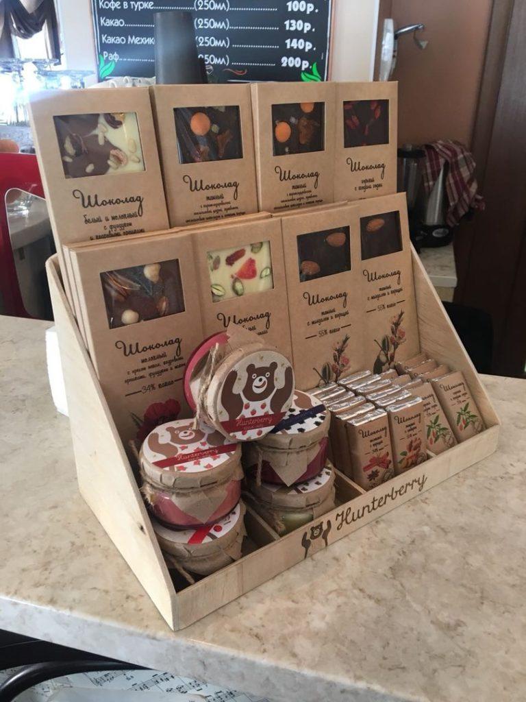 Шоубокс для меда и шоколада Hunterberry