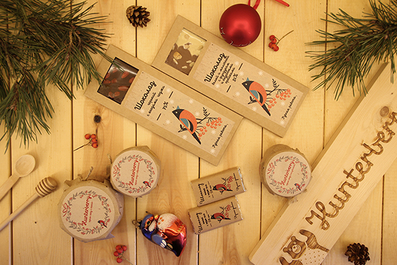 Крем-мед и шоколад — это прекрасные небольшие подарки для ваших близких и знакомых
