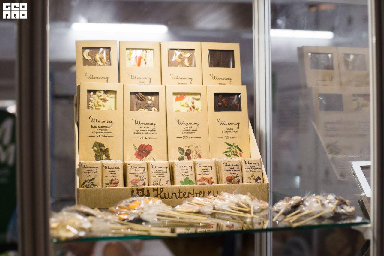 выставка WorldFood Moscow 24-27 сентября в Крокусе Экспо. Шоколад и конфеты ручной работы, натуральный крем-мед